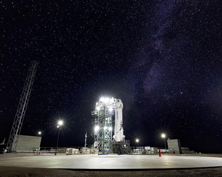无人火箭「新谢帕德号」(New Shepard)将进行第10次试飞。Blue Origin官网