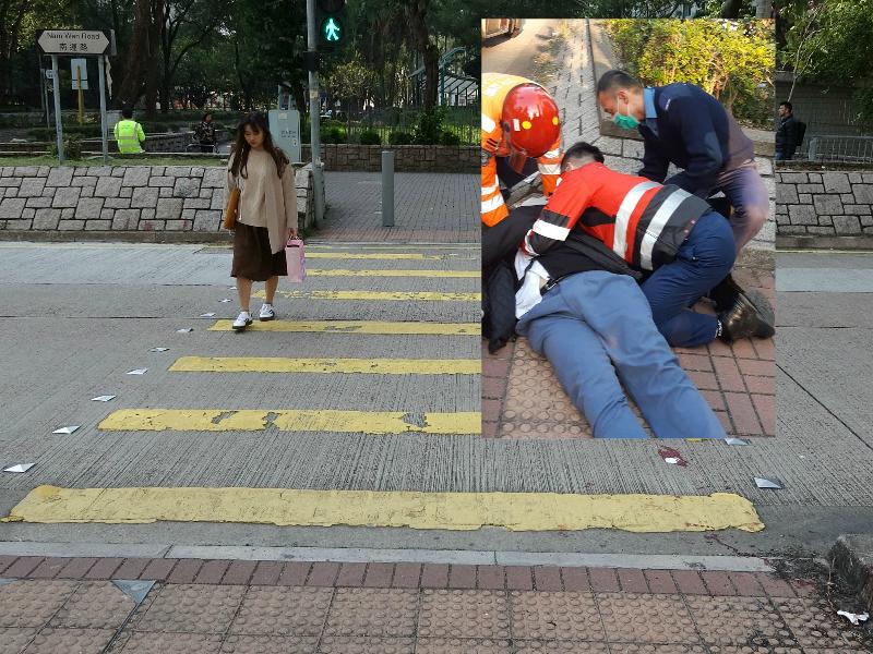大埔交通意外男學生仍然危殆。