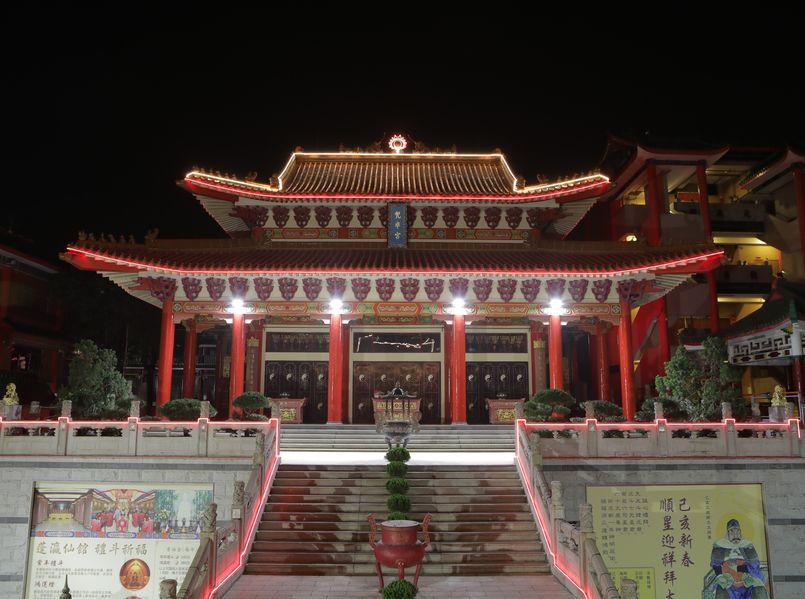蓬瀛仙馆90周年,首办新春献头香。