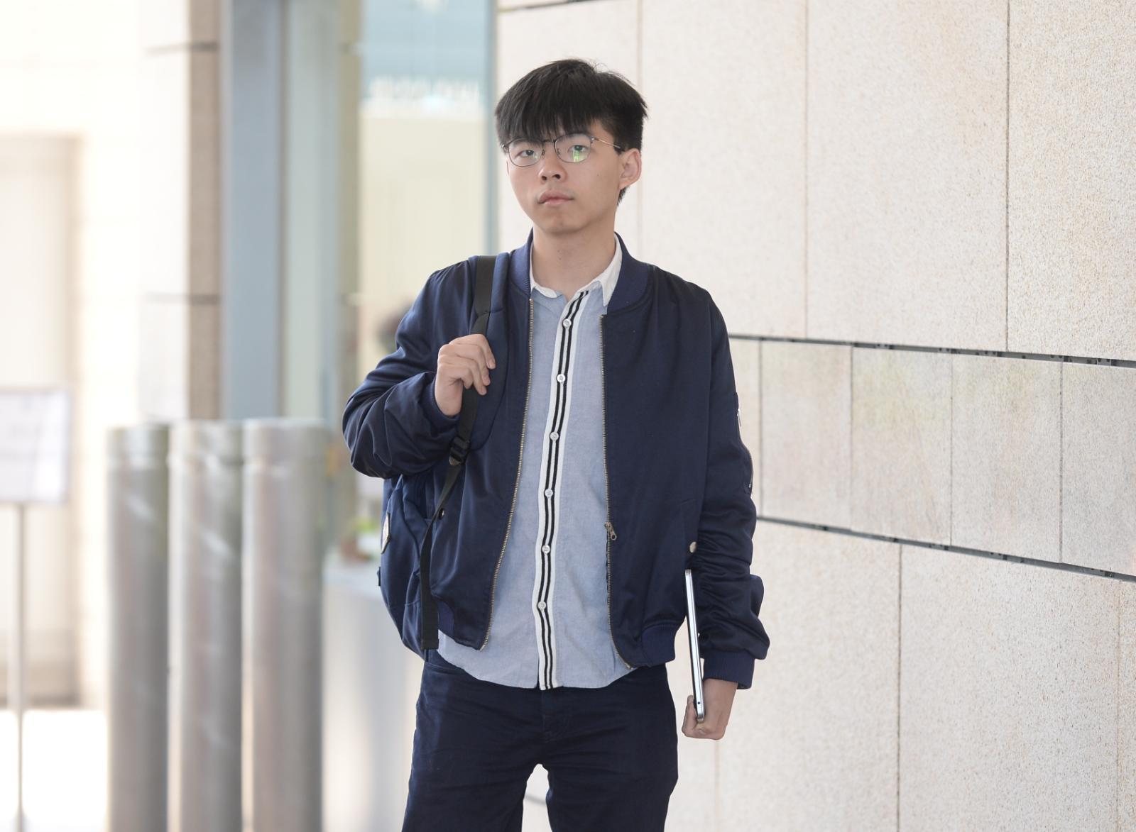 香港眾志秘書長黃之鋒。