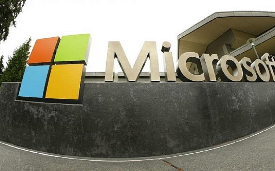 微軟搜尋器Bing在中國内地一度停運。AP圖片