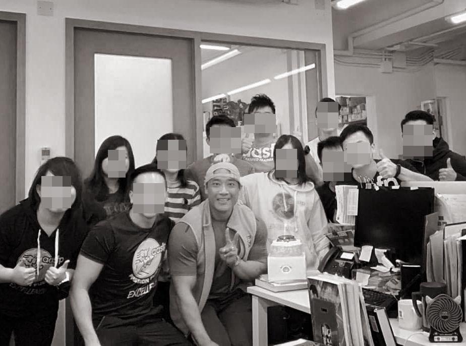 同事昨日剛與Gabriel一起慶祝生日。AASFP fb 圖片