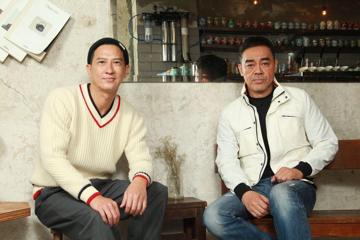 劉青雲與張家輝合作《廉政風雲》,對手戲不多,但各有發揮。