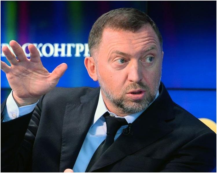 俄罗斯亿万富豪德里帕斯卡。