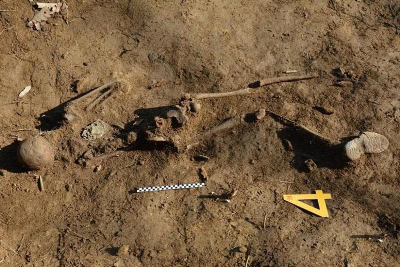 去年11月,两韩非军事区曾挖掘出13具军人遗骸,经鑒定其中一具确认为中国军人遗骸,预计4月送返中国。
