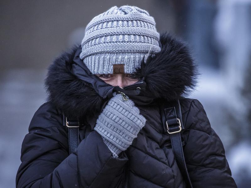明尼苏达州低见零下52度。AP