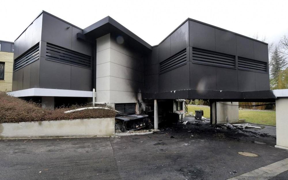 米芝莲星级餐厅疑遭人放火报复。网图