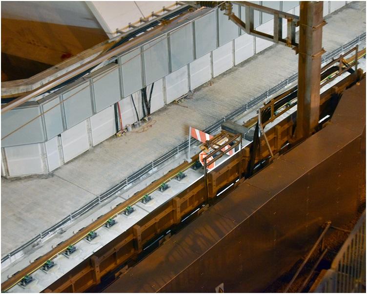 紅磡站失去大批工程驗收文件。