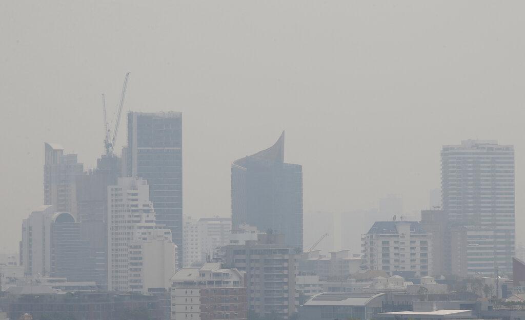 曼谷空气污染严重。