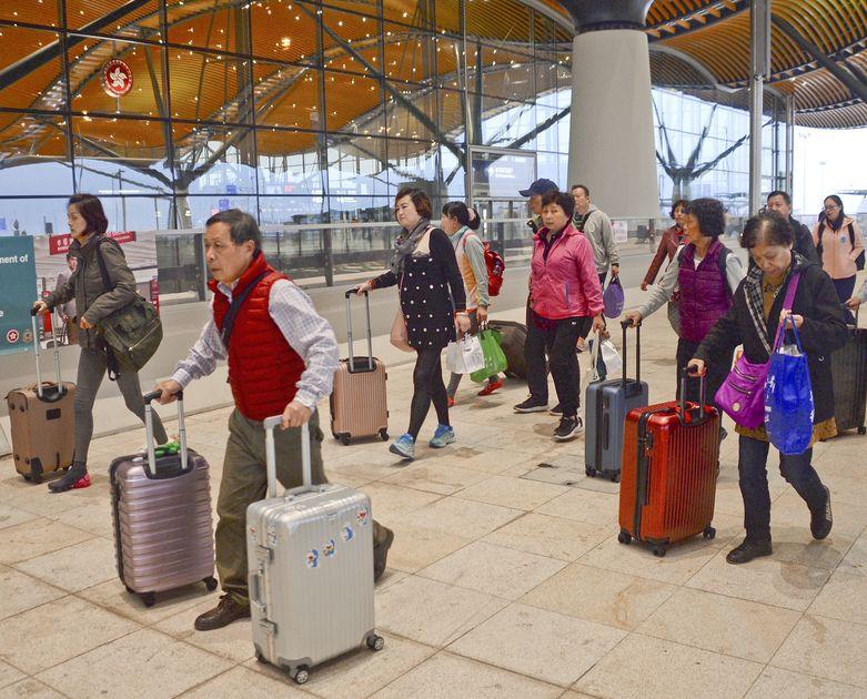 政府預期2月4日至10日的過境客流將較平日繁忙。資料圖片