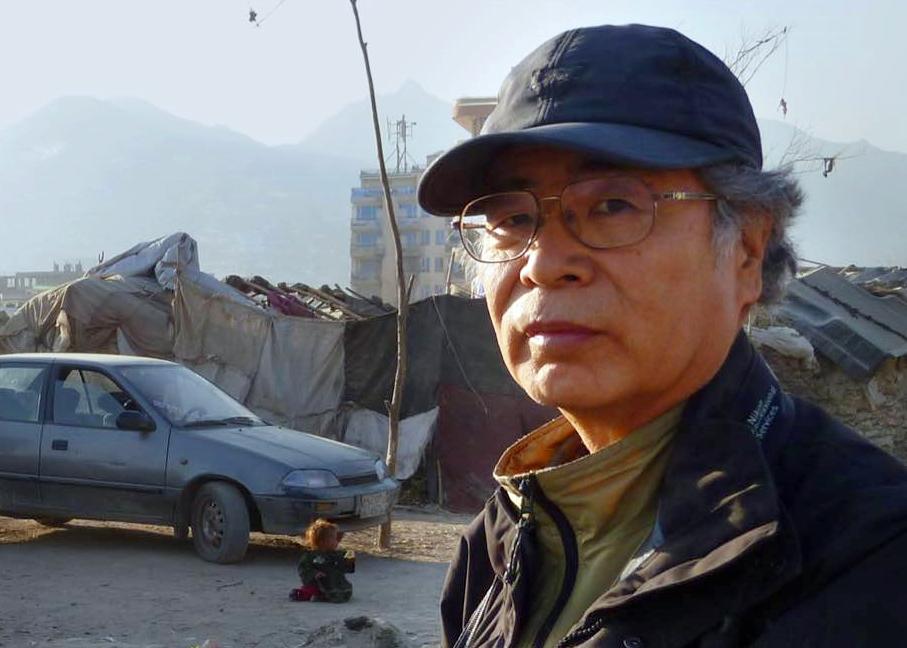 日本摄影师广河隆一。Facebook图片