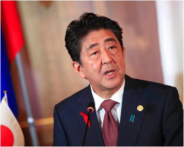 日本首相安倍晋三表示将于中国春节拍片向中国拜年。资料图片