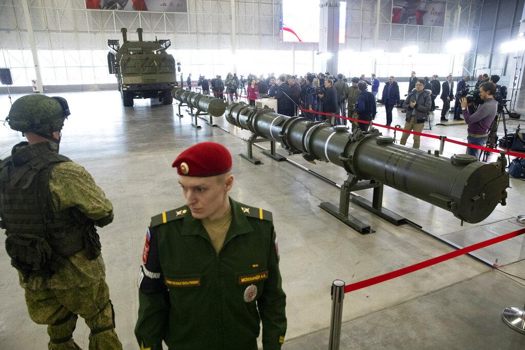 俄罗斯扩大部署9M729型陆基巡航导弹。图片
