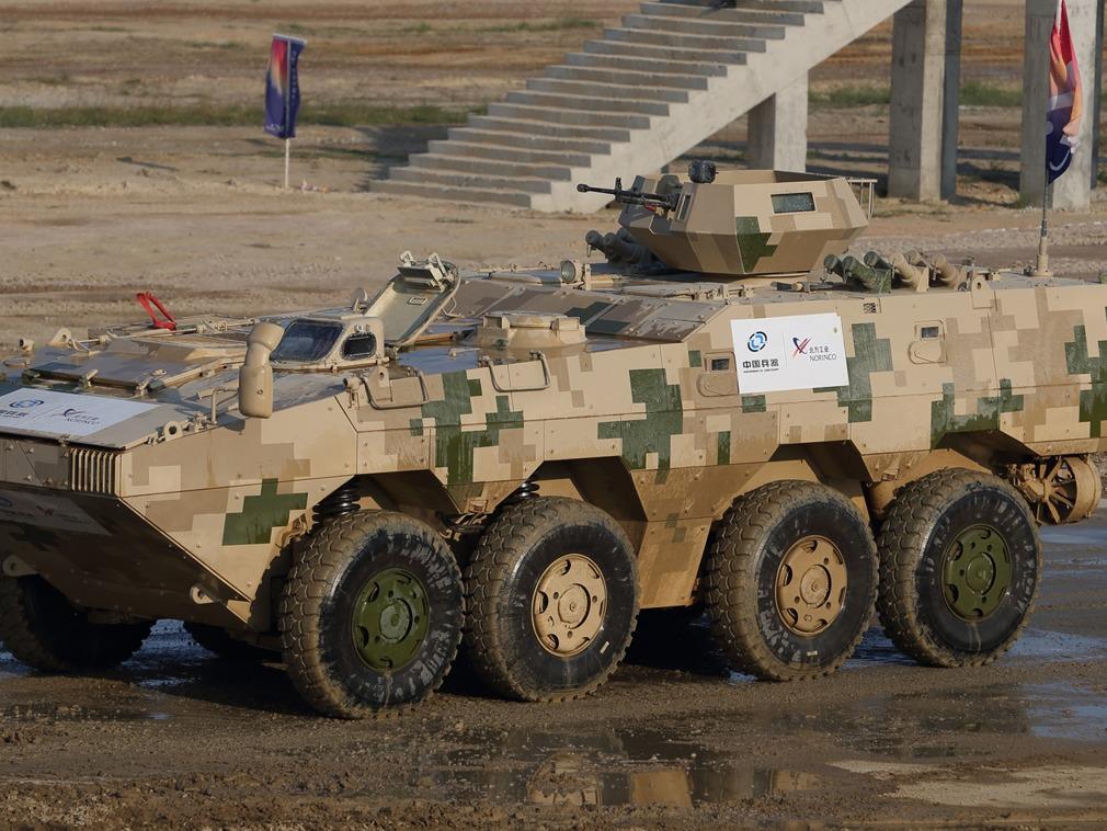 泰国向中国採购43辆VN-1系列装甲车。网图