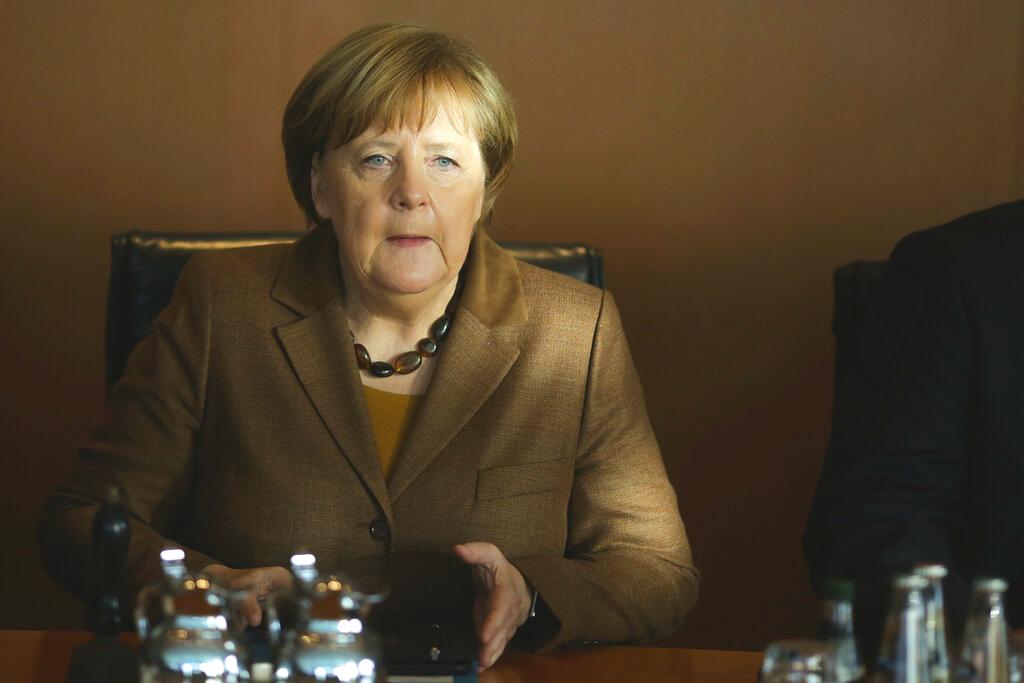 德国总理默克尔关闭facebook帐户。图片