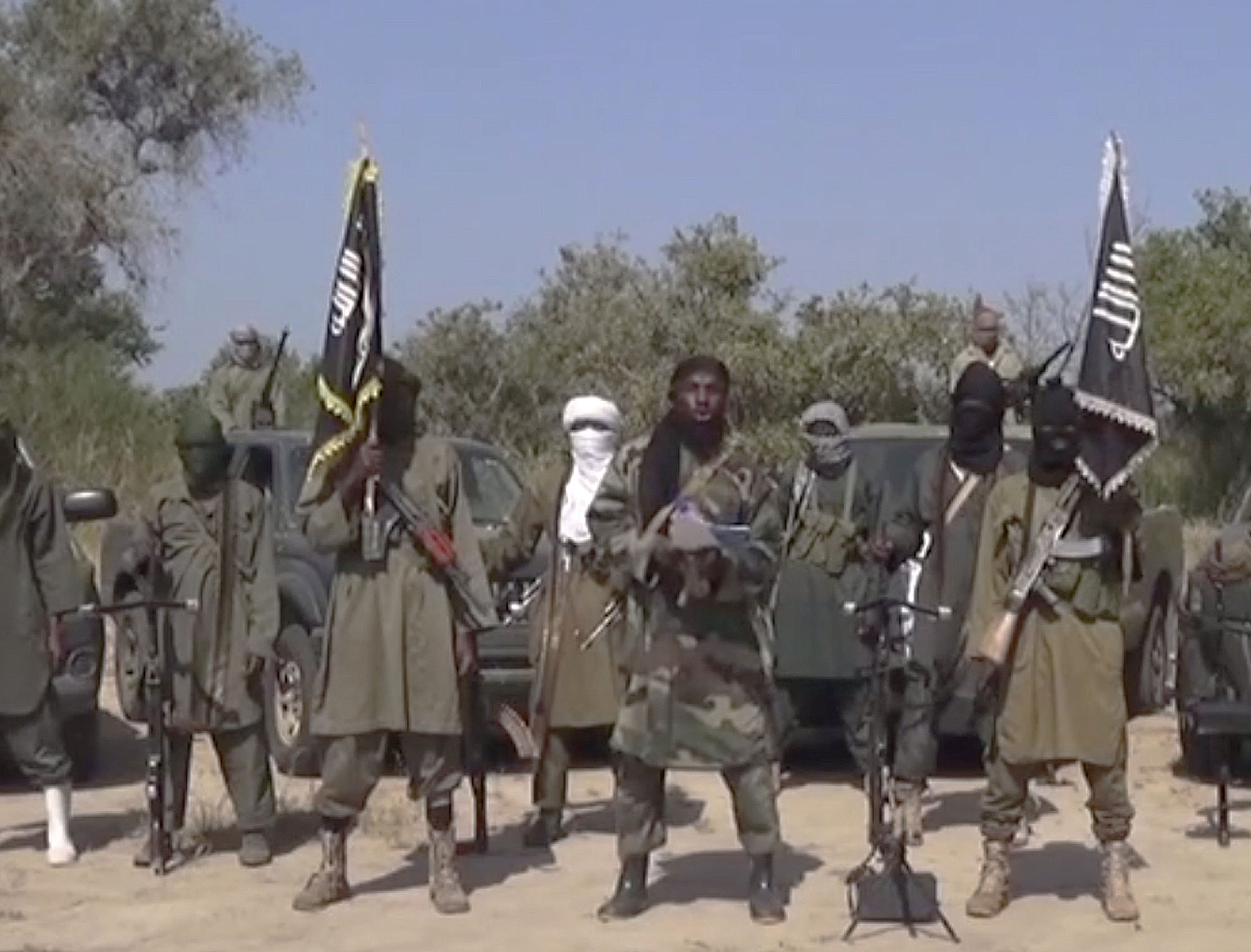 博科圣地武装分子。网上图片