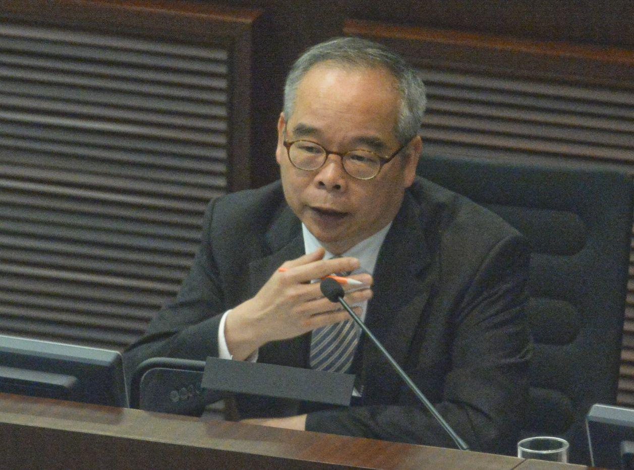 劉江華透露,報告將會押後公布。資料圖片