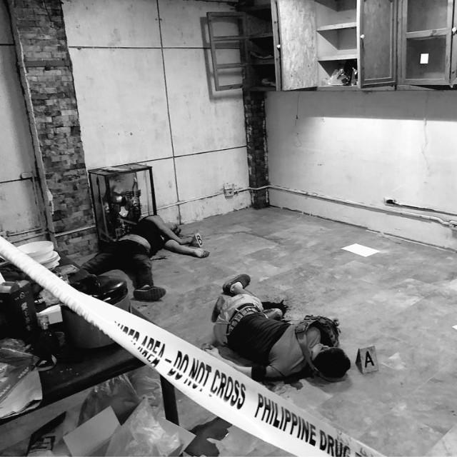 菲律賓掃毒行動中擊斃兩涉毒中國人。網圖