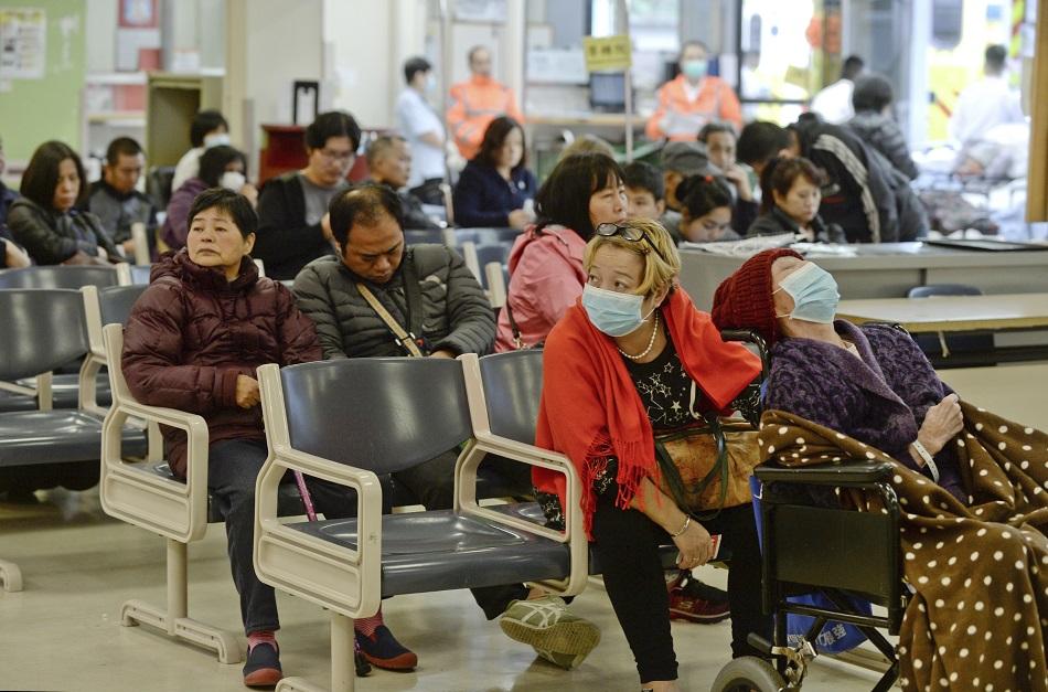 美國研究發現患流感樣疾病15天老人中風風險增40%。資料圖片