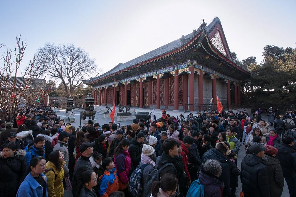 北京16萬人遊覽創歷年新高。網圖