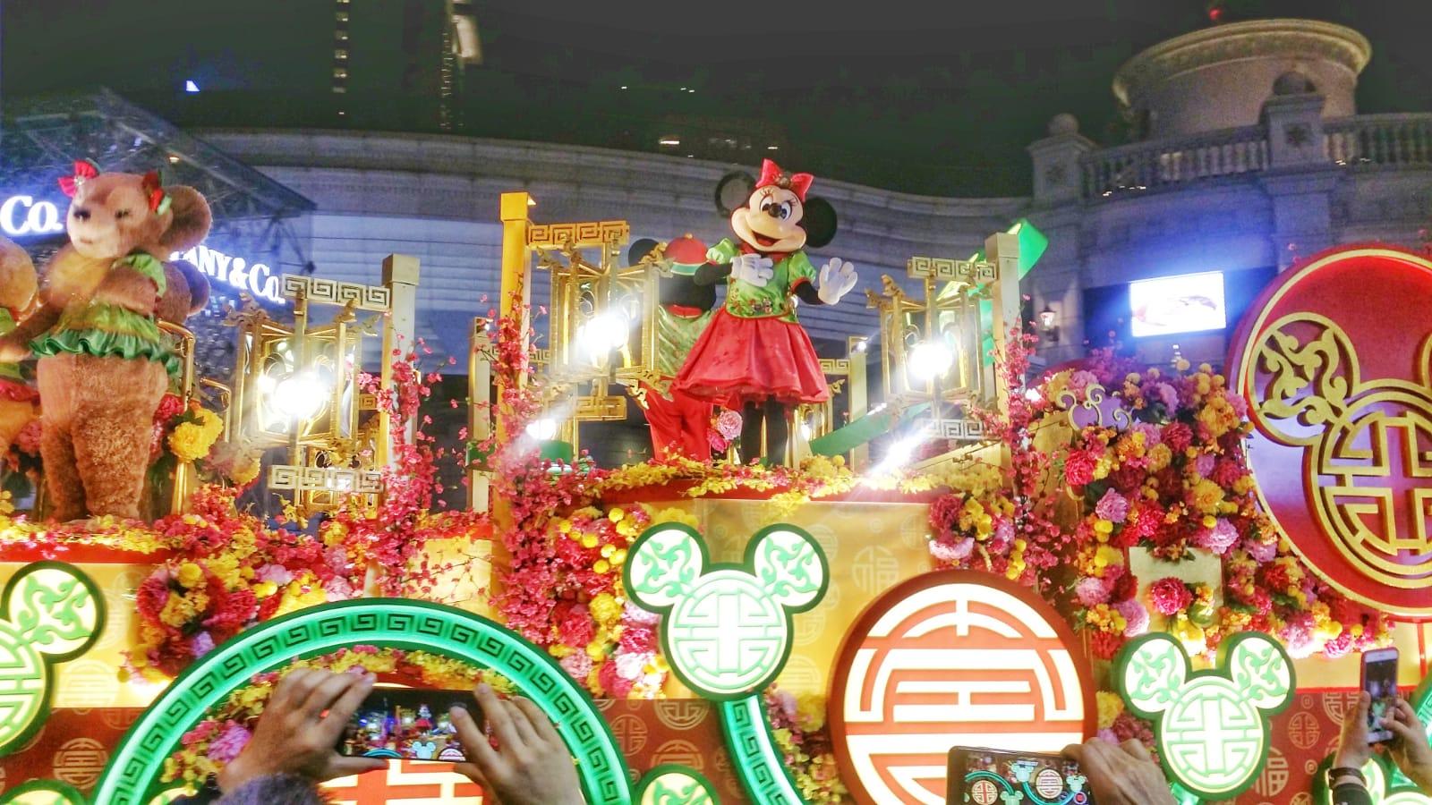 新春花車巡遊晚上8時在尖沙嘴舉行。