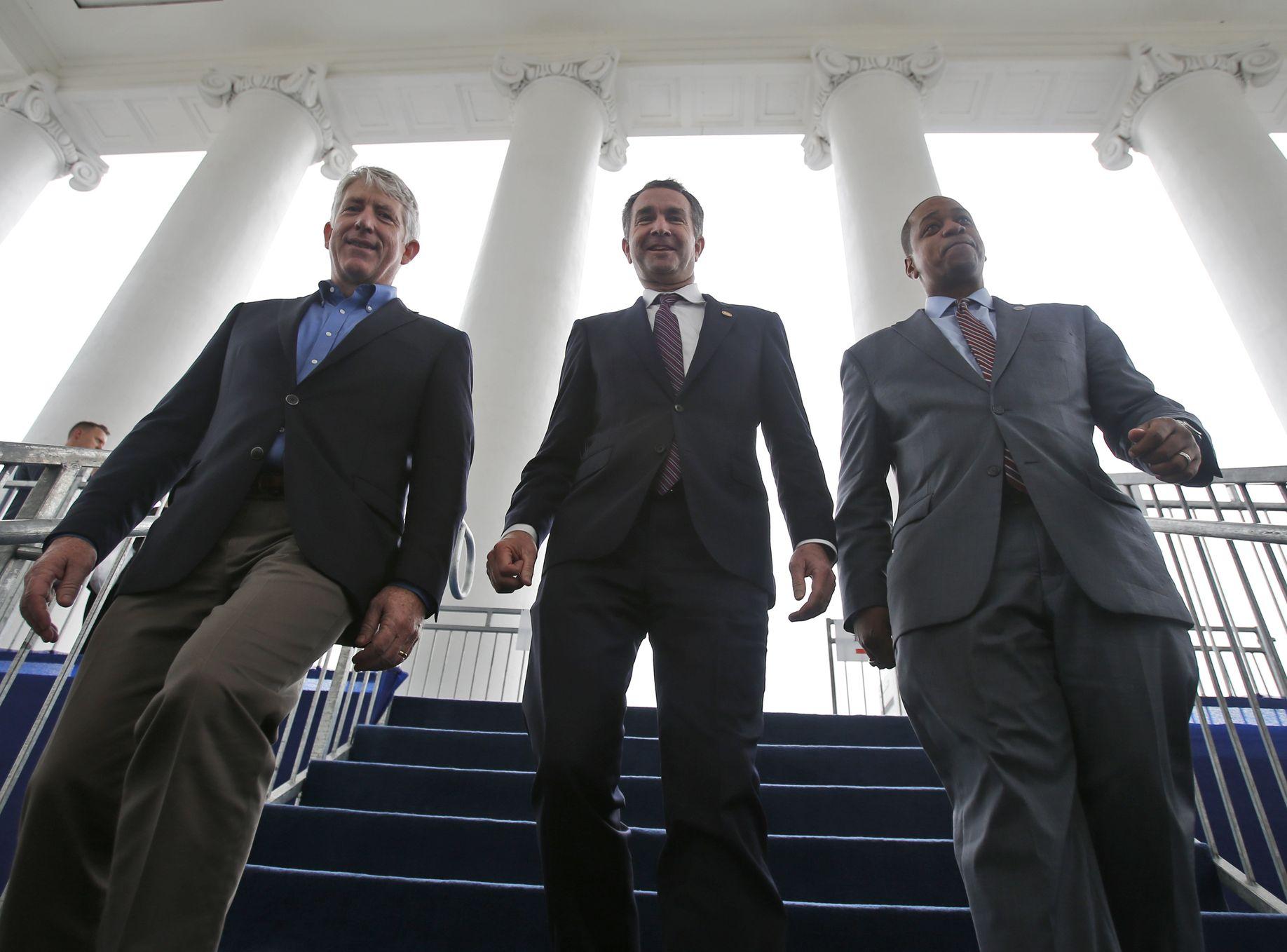 維珍尼亞州3名民主黨高層人士都深陷醜聞。AP