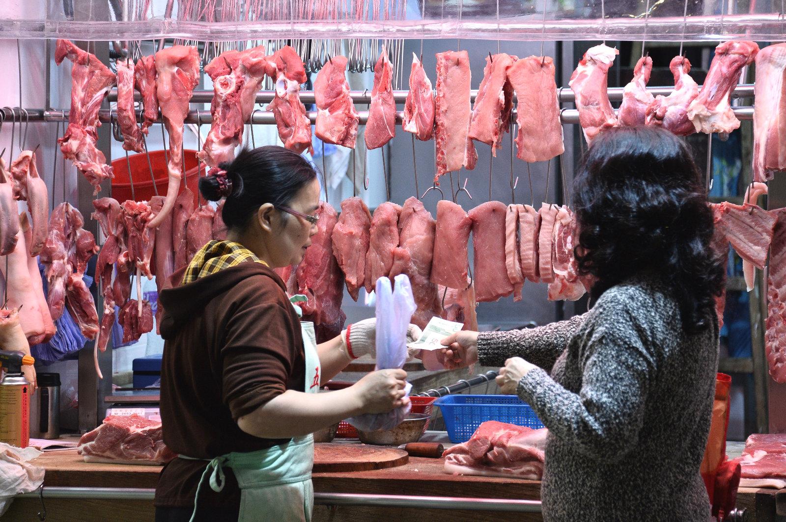 本港將復售鮮豬肉。資料圖片