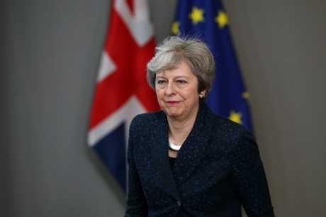 文翠珊在布鲁塞尔向记者表示,将会实现英国脱欧,并会如期实现。