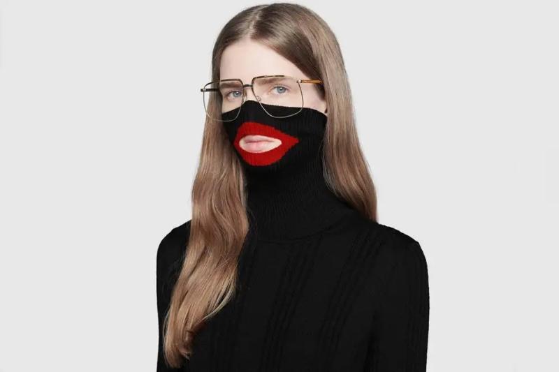 GUCCI将一款涉种族歧视的Balaclava毛衣下架。(网图)