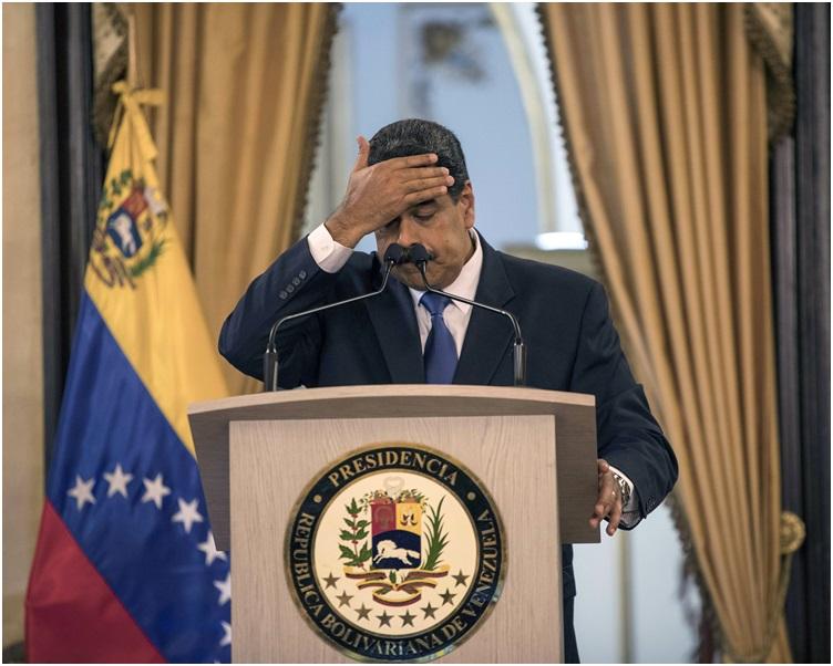 消息指美方準备推出新制裁要让马杜罗承受更大压力。
