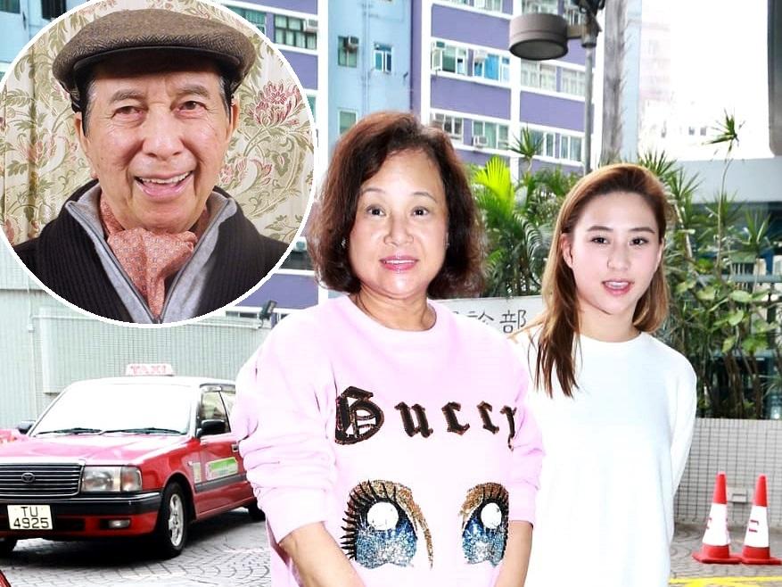 三太陳婉珍和女兒何超蓮今日再到醫院探望何鴻燊(小圖,資料圖片)。
