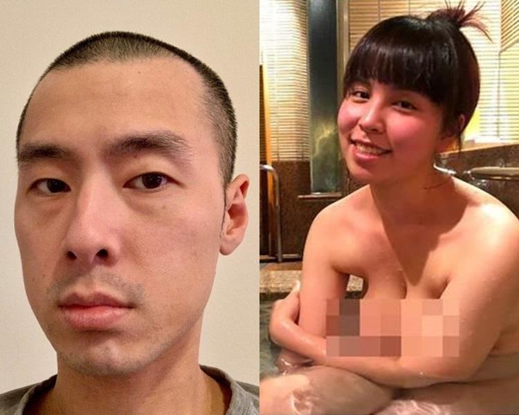 台灣部落客無敵小恩恩(左)、前妻「有馬妹」(右)。Andytn Tsai facebook/無敵小恩恩部落格