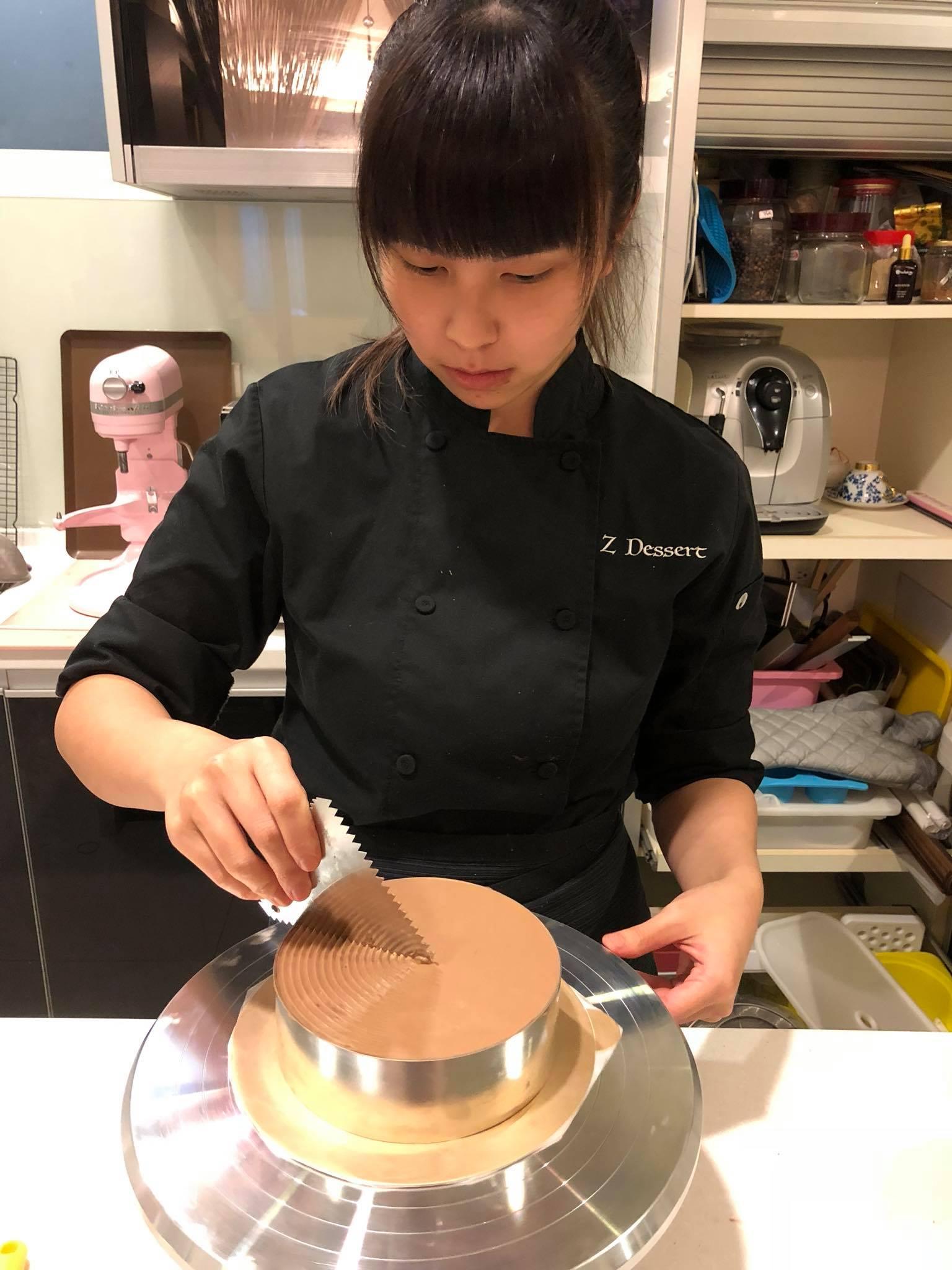 前妻到美國後發展甜品事業。Z Dessert facebook