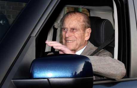 菲腊亲王自1月17日开车发生车祸后,已决定主动缴回驾驶执照。资料图片