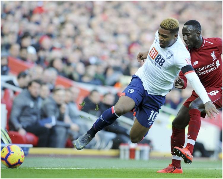 利物浦主場以3:0擊敗般尼茅夫,終止兩場不勝。AP