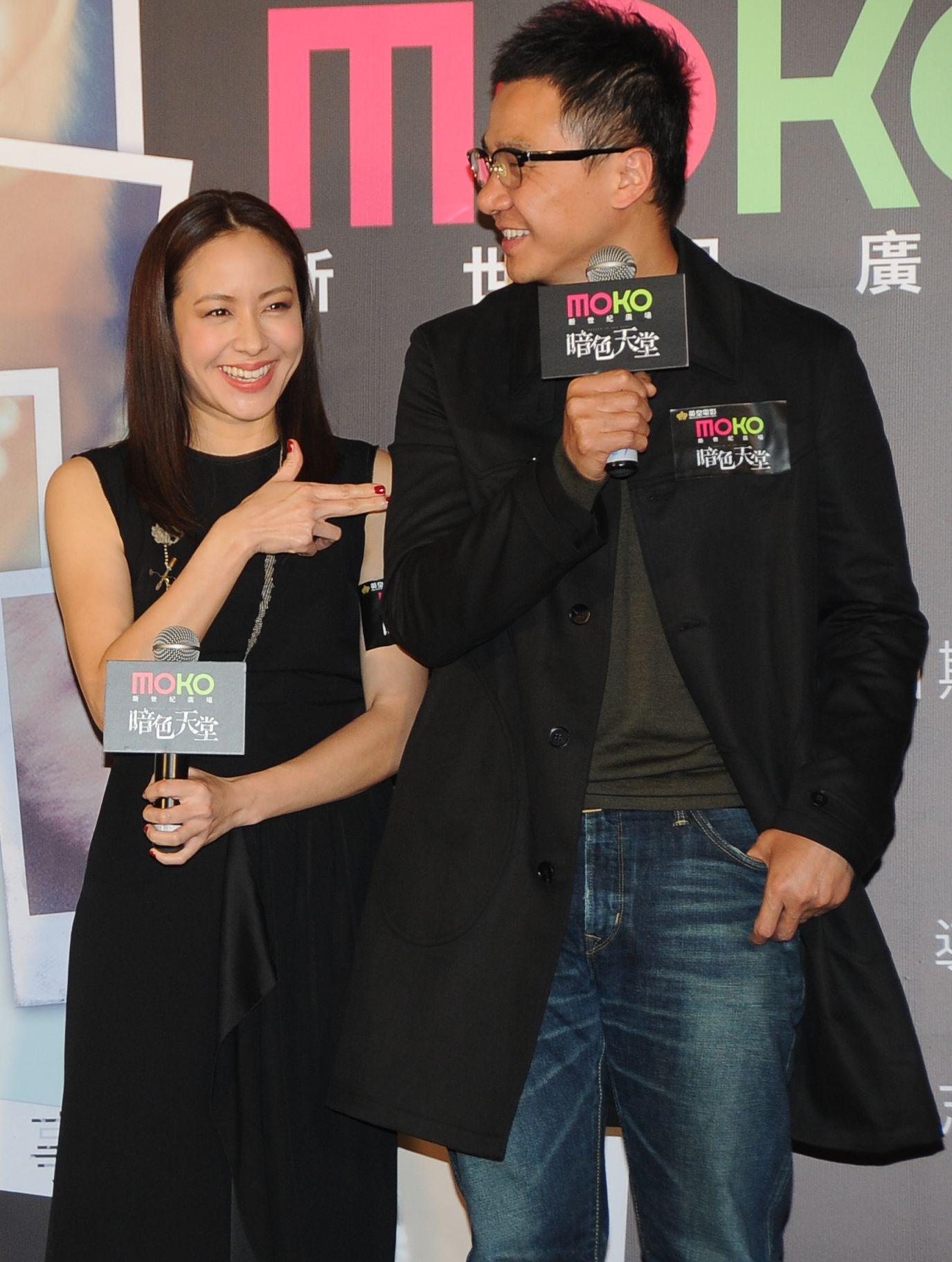 林嘉欣與丈夫曾以夫妻檔合作拍戲。