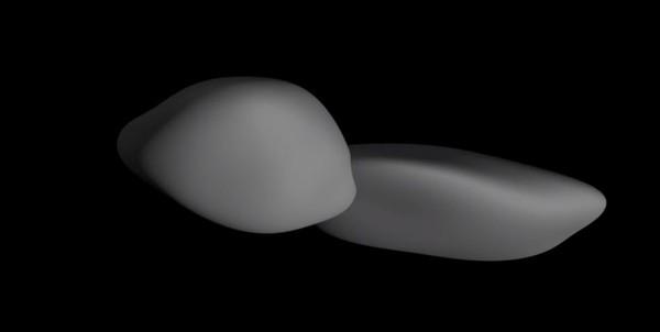 「天涯海角」呈扁平状,这种形状是前所未见的。(网图)