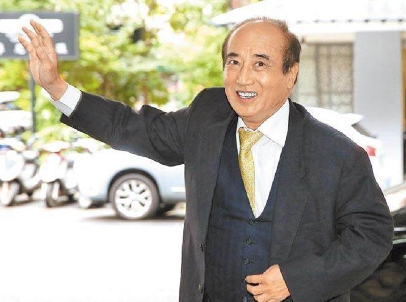 台灣前立法院長王金平宣布一定選總統。網上圖片