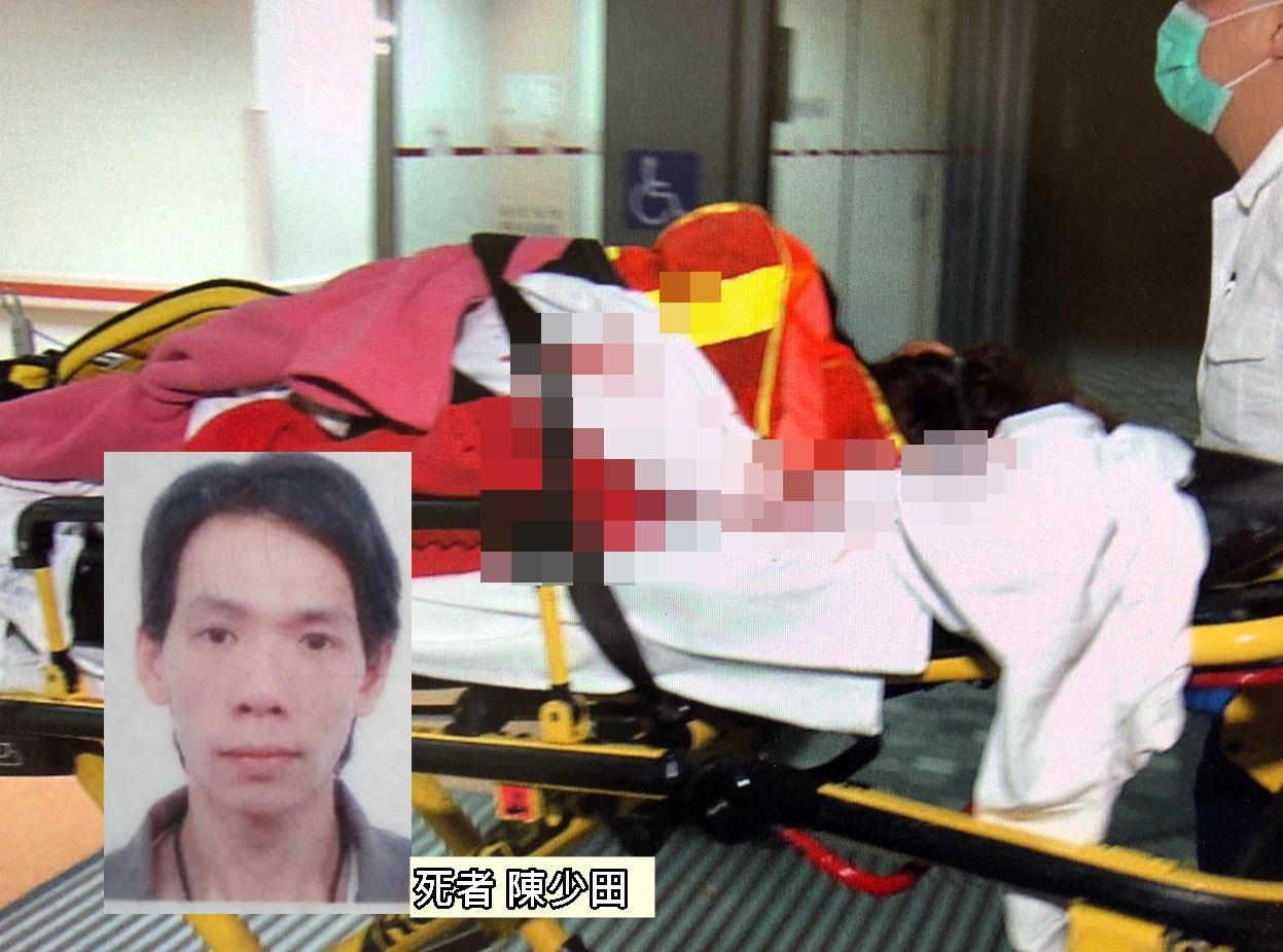 陳男在清潔街燈時,意外觸電死亡。