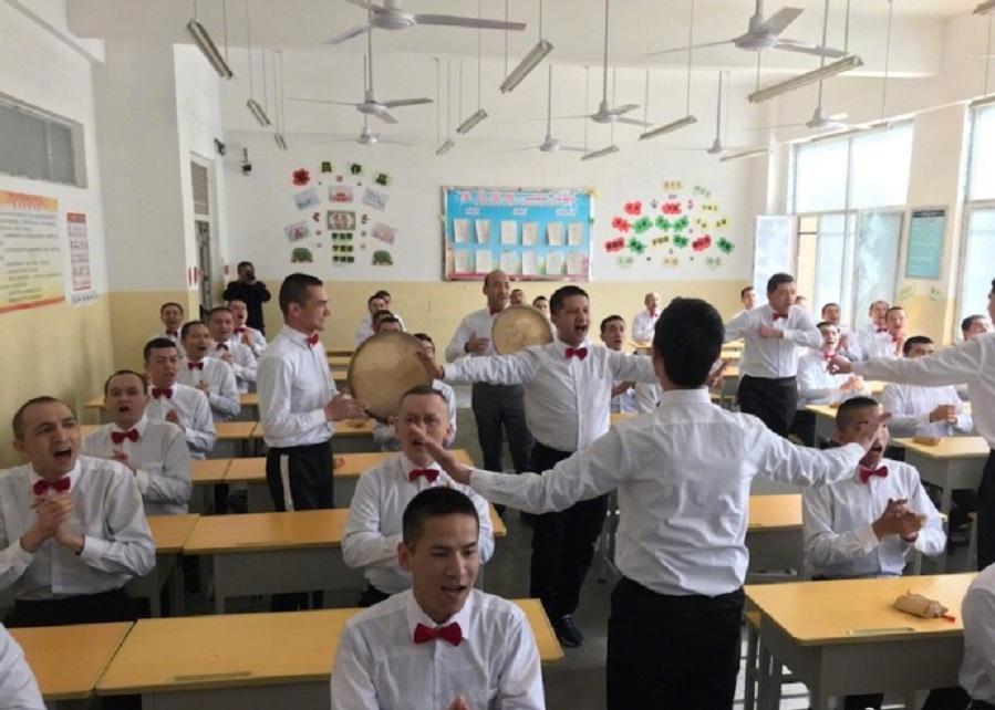 新疆的去極端化「培訓中心」。網上圖片