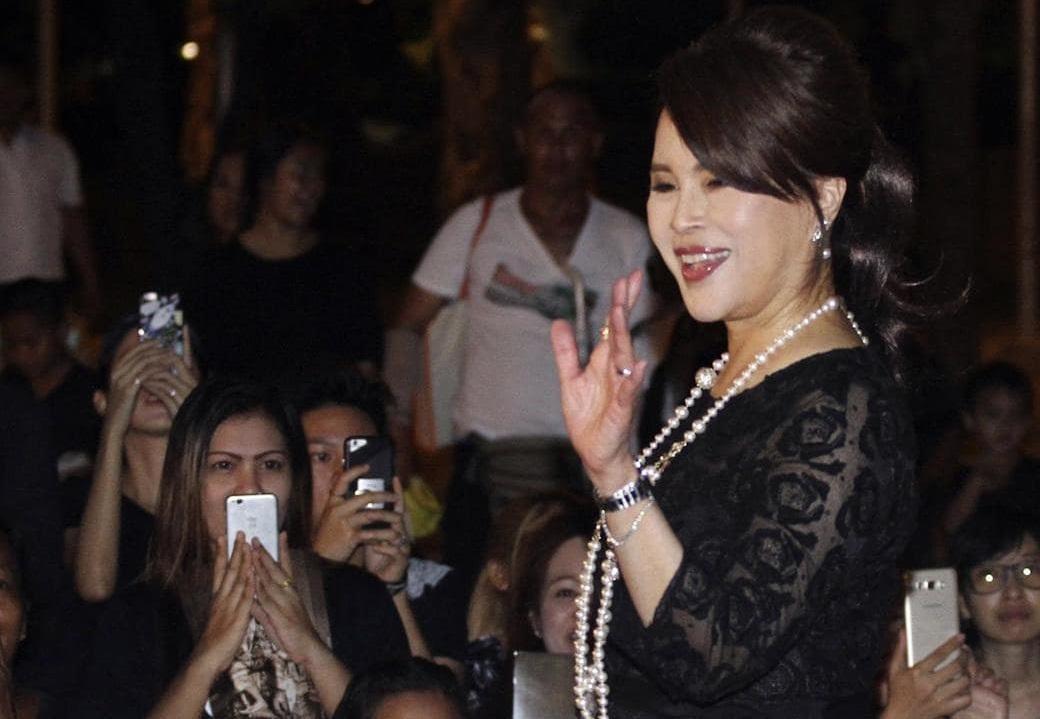 泰國取消烏汶叻公主參選總理資格。AP圖片
