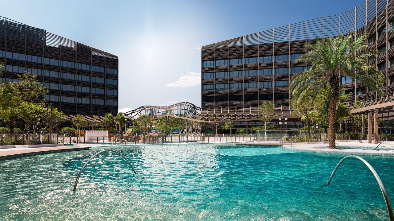 海洋公園萬豪酒店。 資料圖片