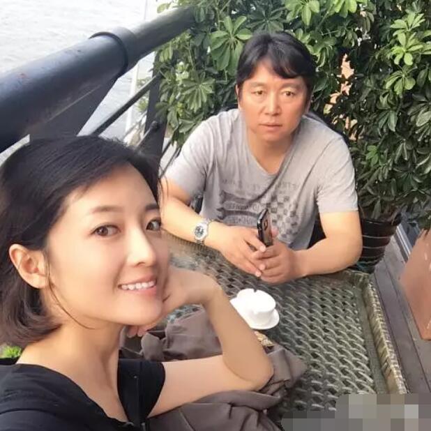 内地演员刘熙阳、北京电影学院长张辉。微博图片