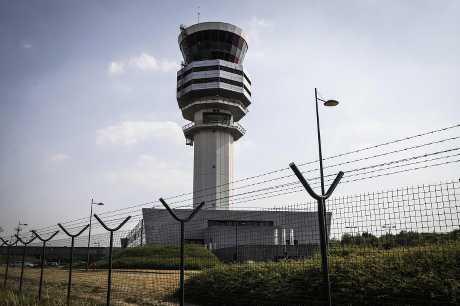 布魯塞爾機場預計約70%航班須取消。資料圖片