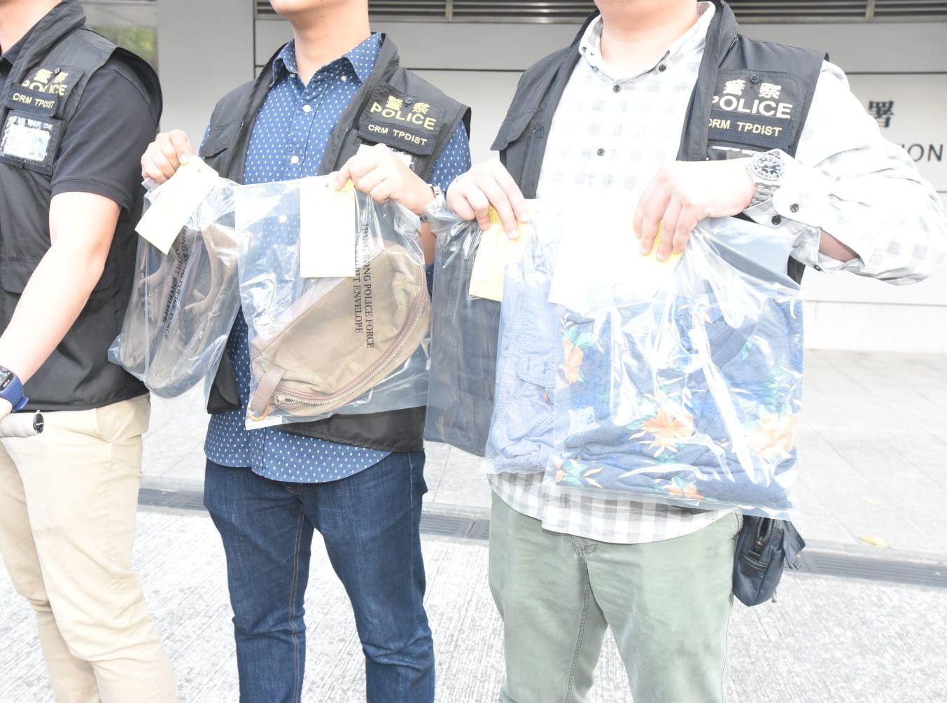 警方拘捕兩名男子,包括一名14歲的本地男中學生,以及一名18歲英籍男子。