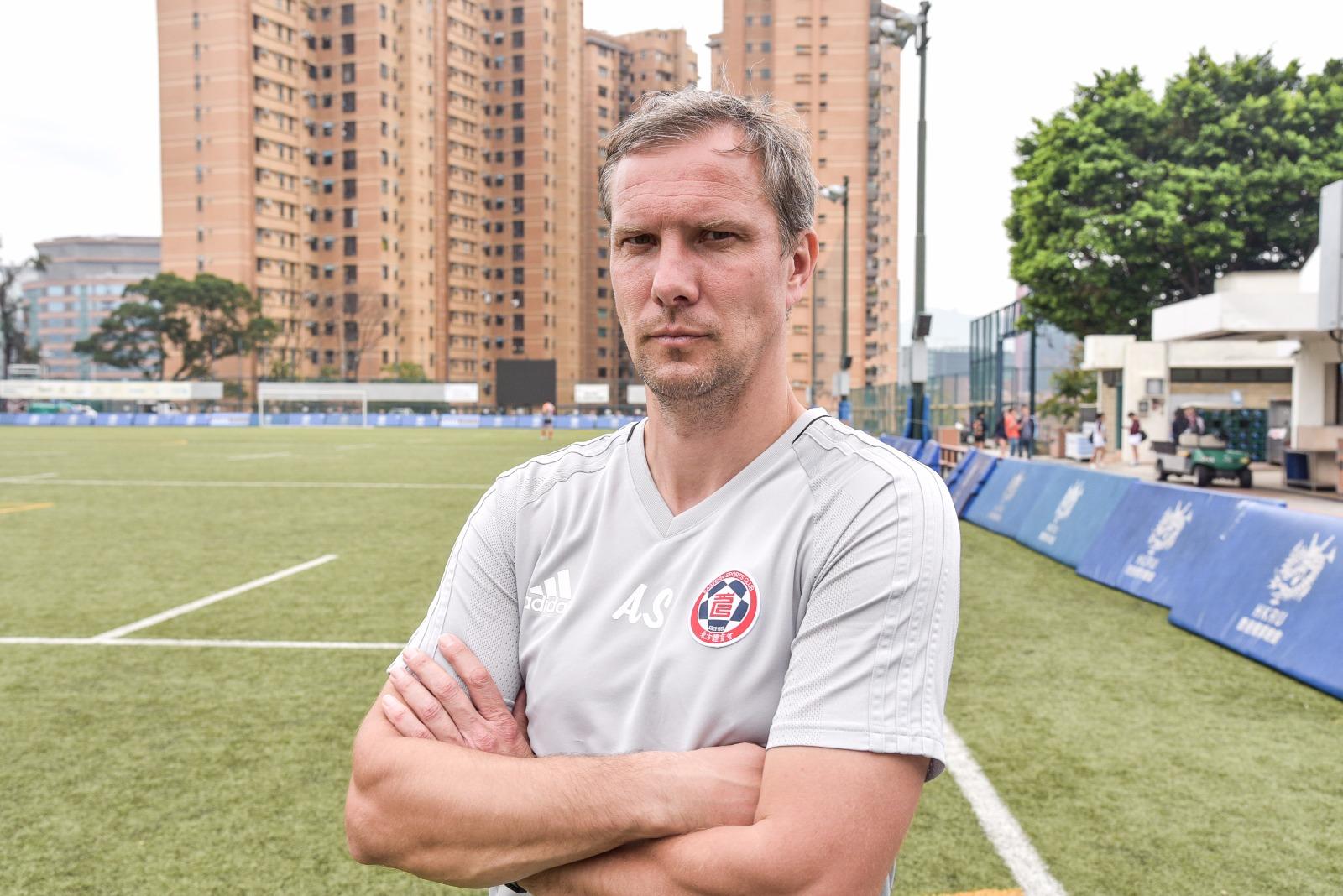 东方龙狮宣布觅得曾担任富咸青训教练的前拉脱维亚国脚安祖史杜锡接掌帅印。相片由公关提供