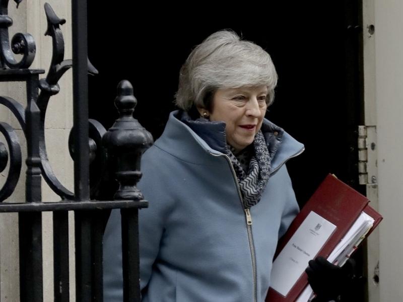 英国下议院拒绝支持首相文翠珊的脱欧谈判策略。