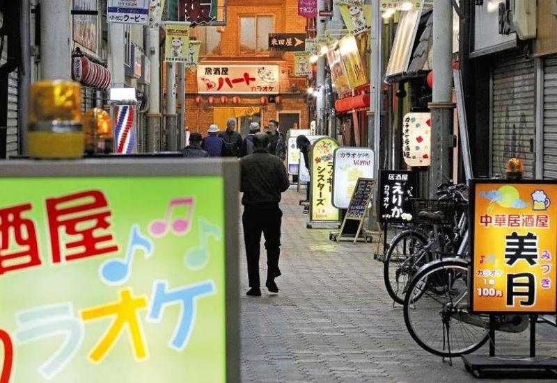 团体正计划推动在市内西成区建设「大阪中华街」。网图