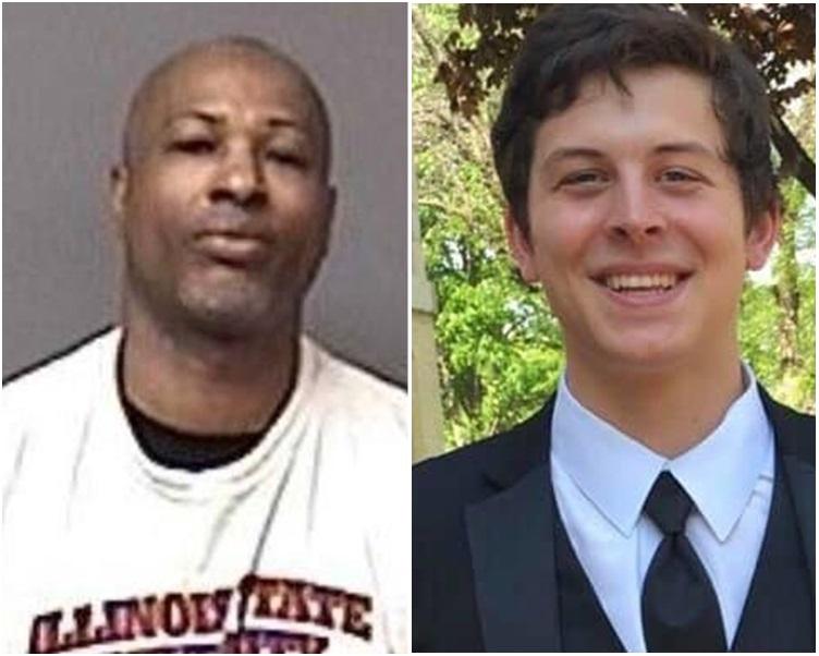 大学见习生魏纳(右)死在疑兇马丁(左)枪下。网图