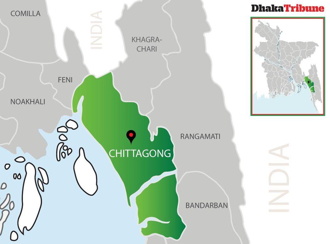 孟加拉吉大港的贫民区发生火警,导致至少8人死亡。网图